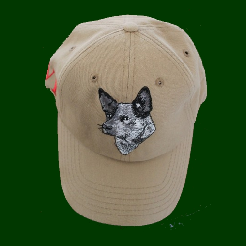 Blue dog cap